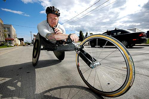 Paralympian Jeff Adams