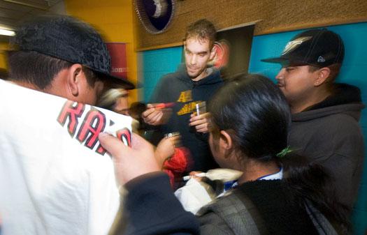 jose calderon at hispanic youth alive in toronto
