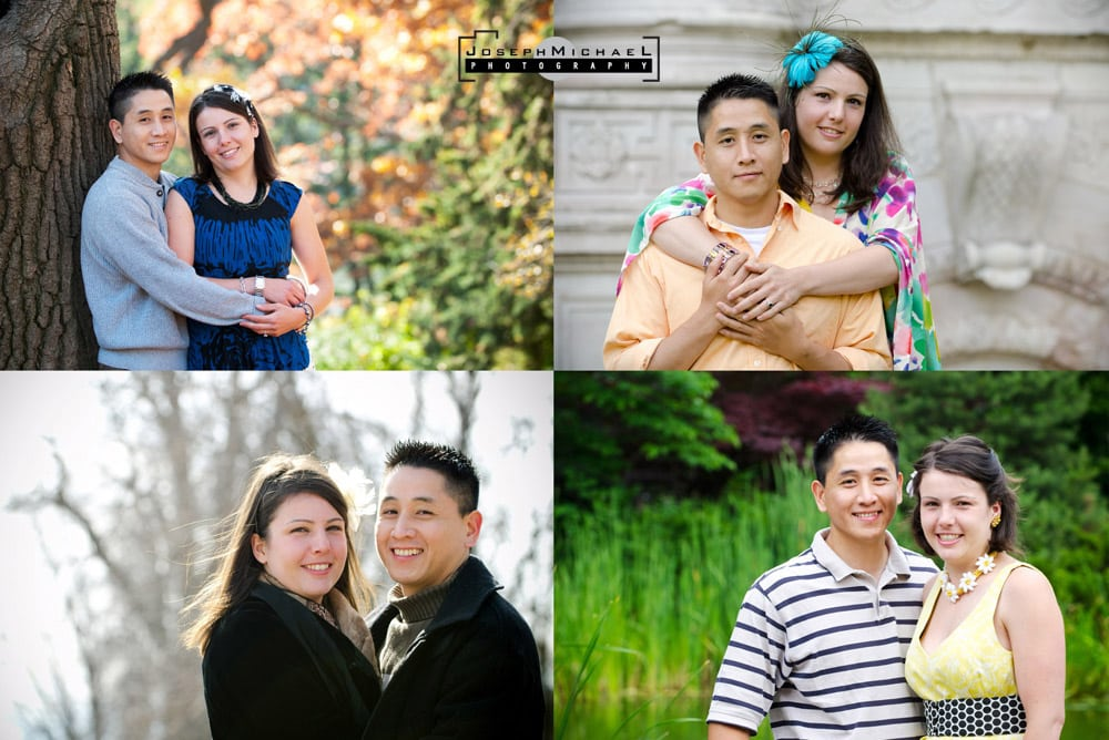 Engagement Photos all four season