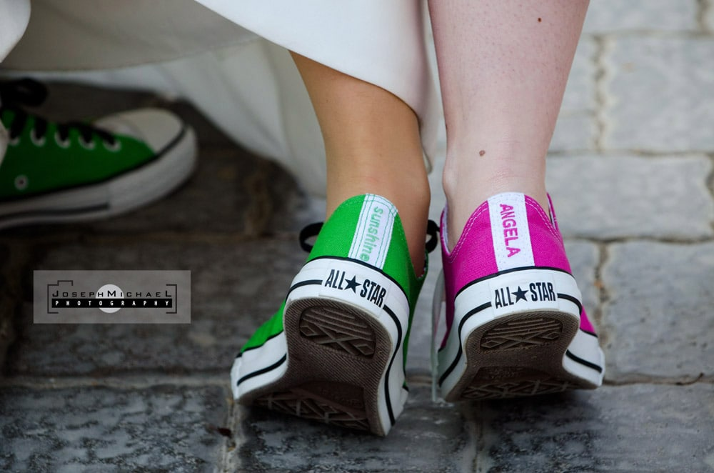 personalized converse shoes Wedding Photography