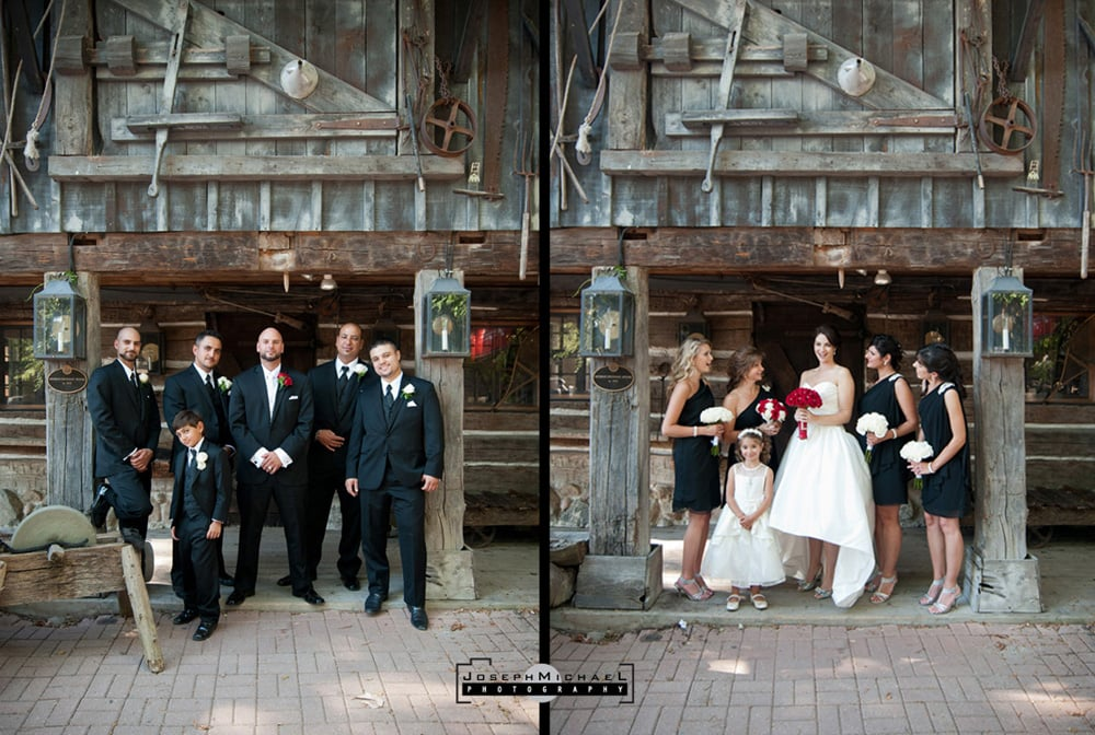 Main Street Unionville Wedding Photos