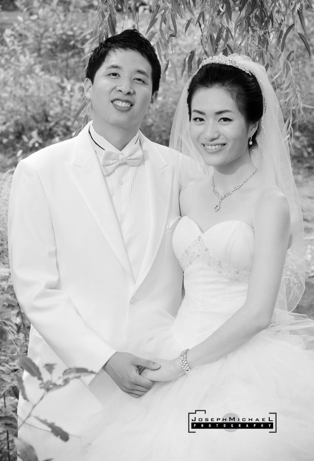Toronto Botanical Gardens Korean Chinese Wedding Photography Edwards Gardens
