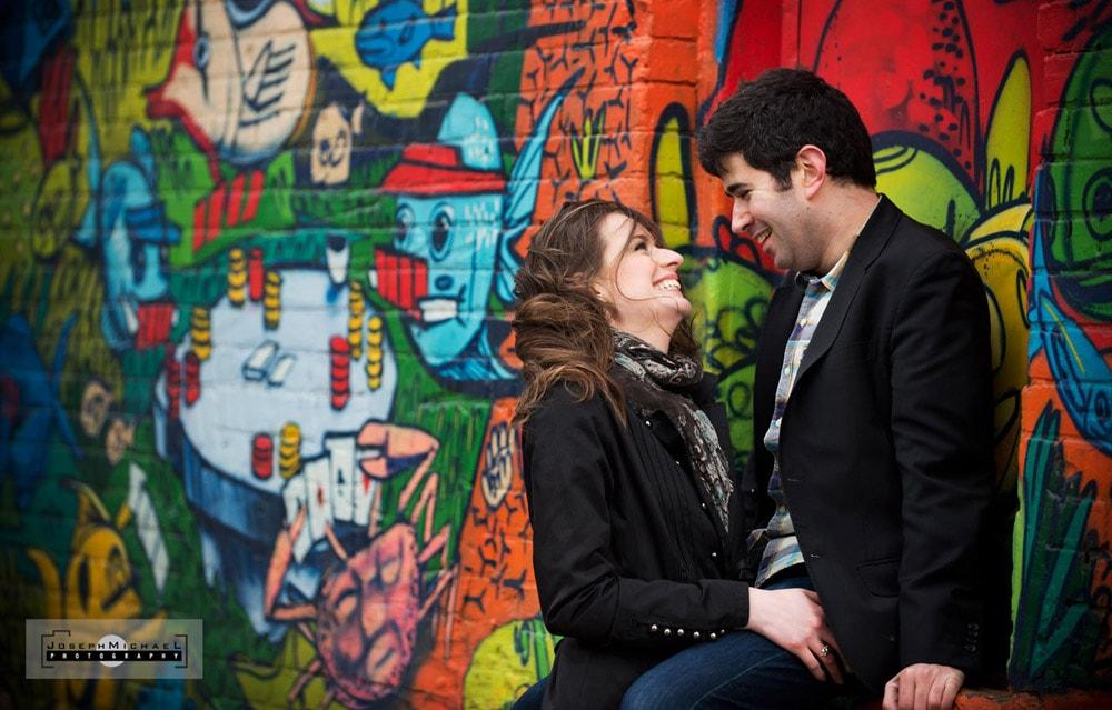 Rush Lane Toronto Engagement Photos