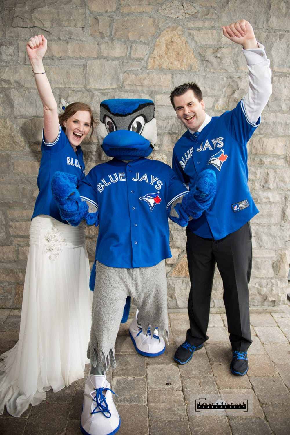 Baseball Themed Wedding Blue Jays