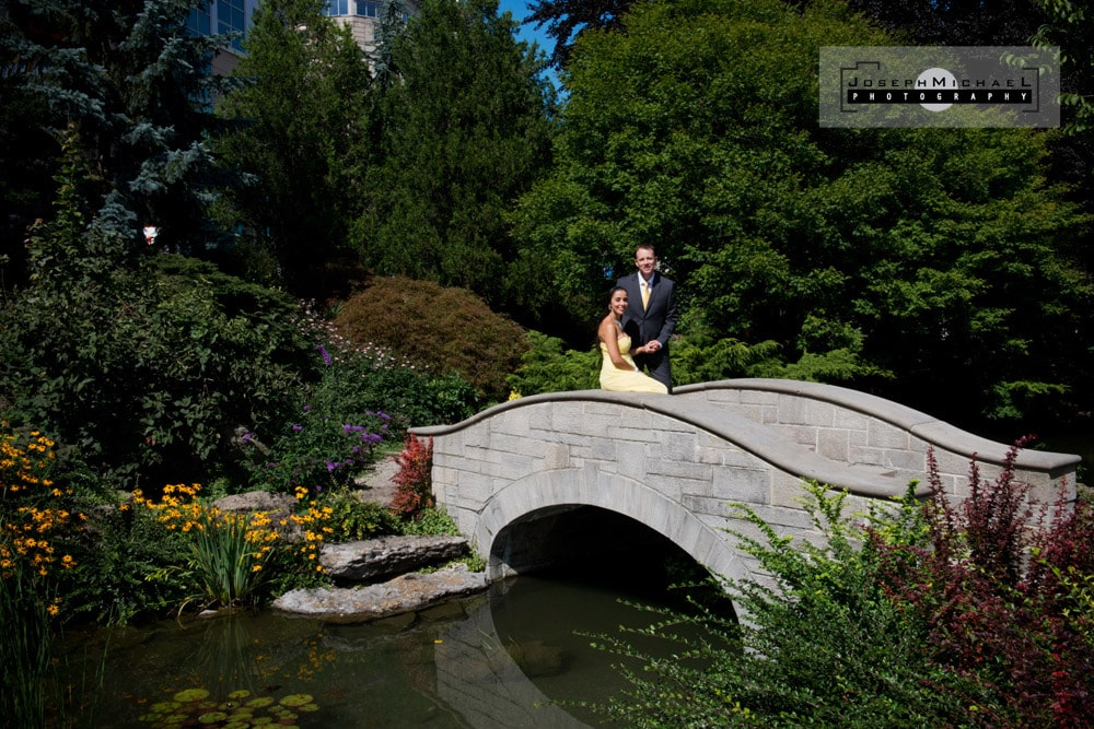 Rainbow Gardens Niagara Falls Wedding Photos
