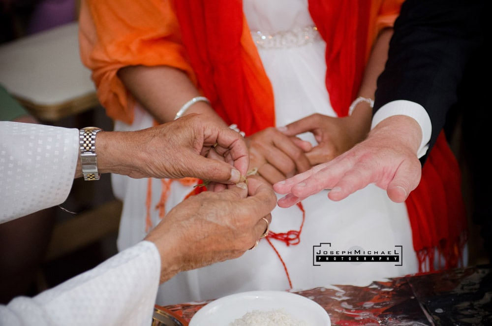 Hindu Ceremony at Home Toronto Wedding Photography