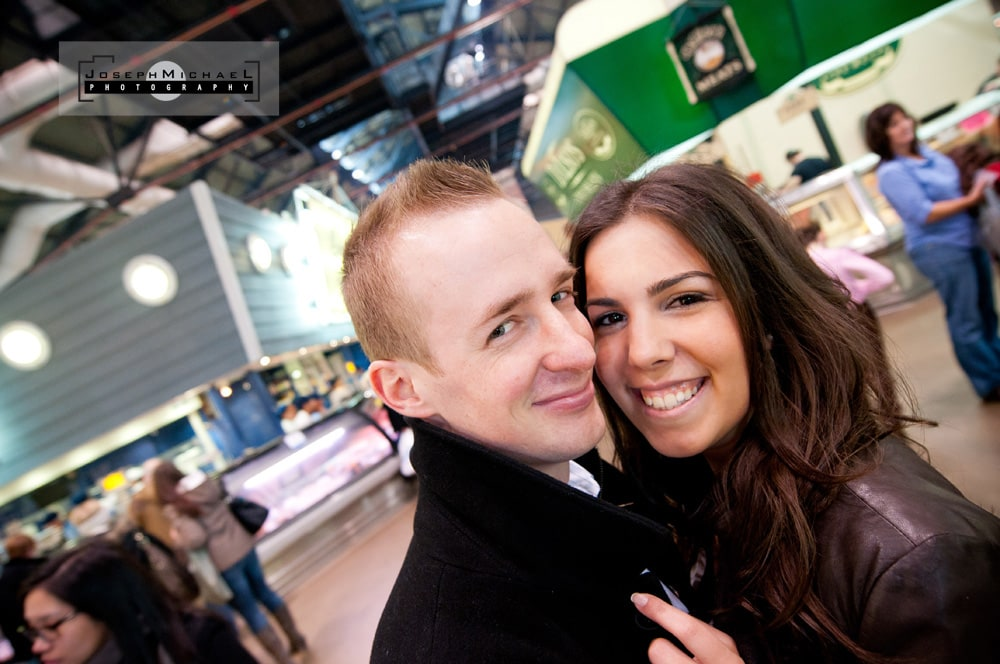 St Lawrence Market Engagement Photos