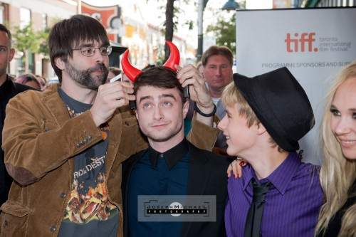 TIFF Daniel Radcliffe Horns Bloor Cinema Toronto