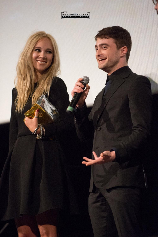 TIFF Daniel Radcliffe Juno Temple Horns Bloor Cinema Toronto