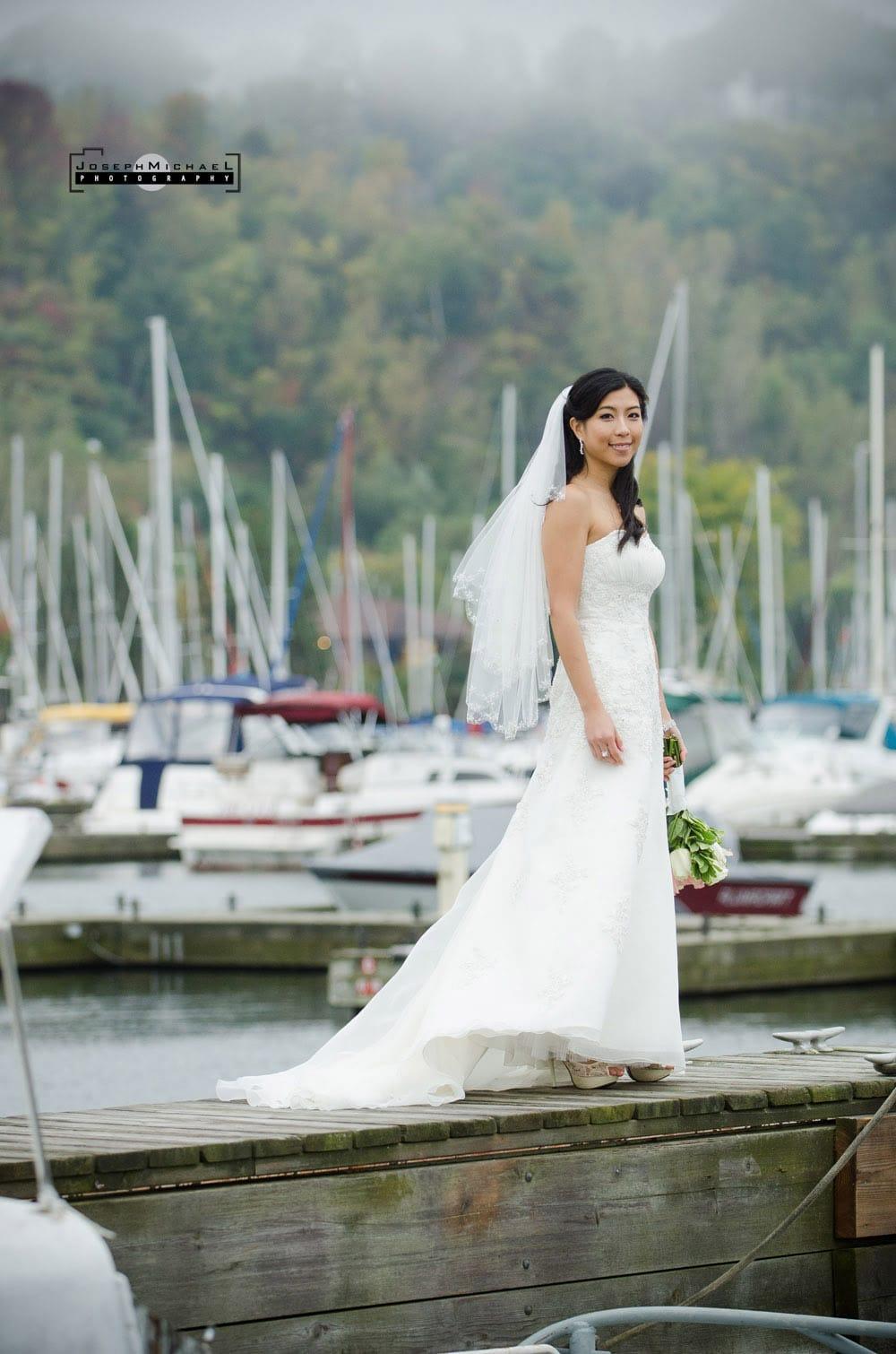 Wedding Photography at Bluffers Park Marina Toronto