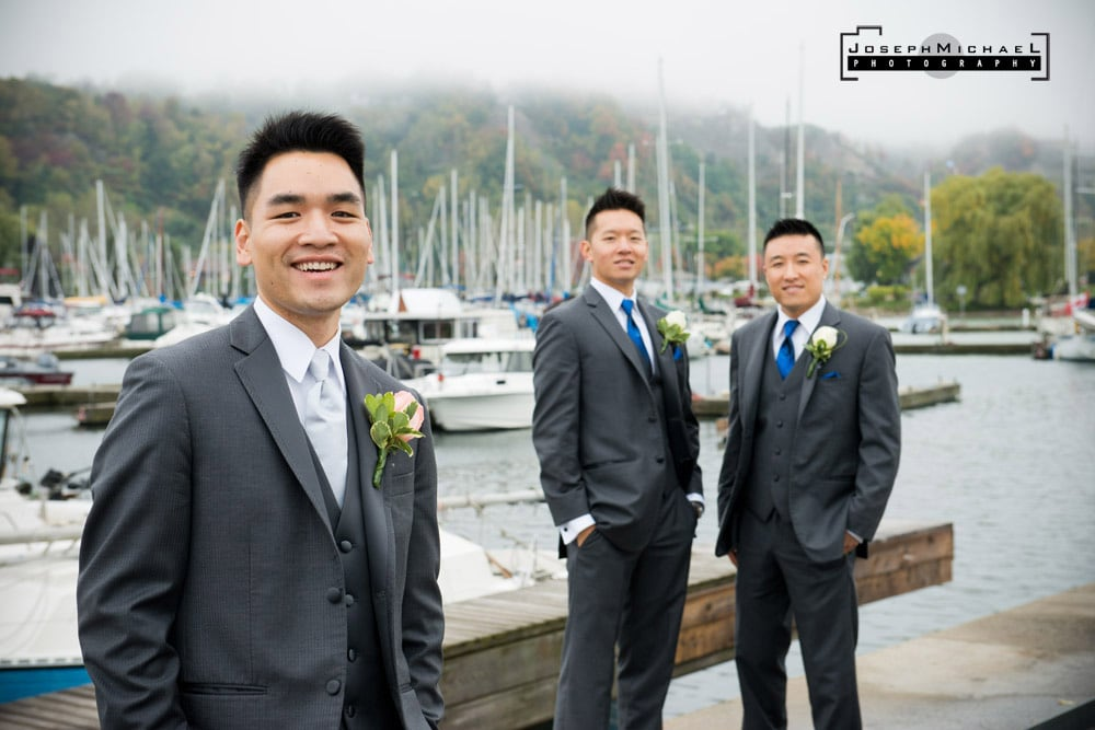 Wedding Photography at Bluffers Park Marina Toronto