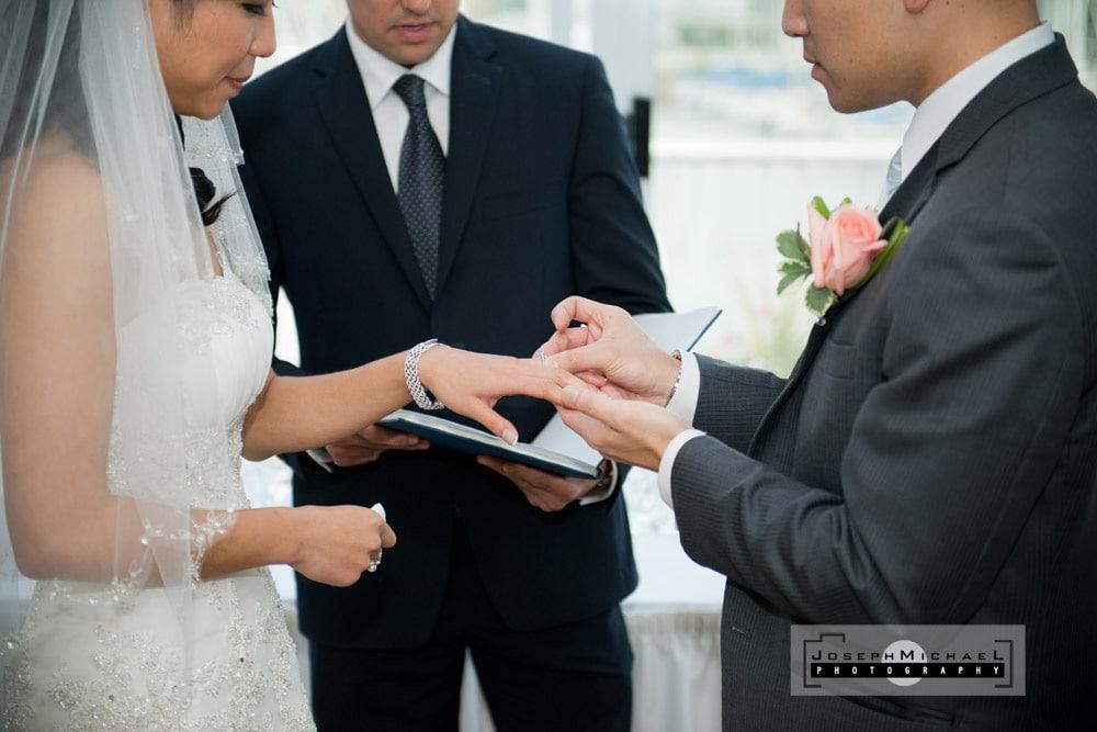 Wedding Photography at Bluffers Restaurant Toronto