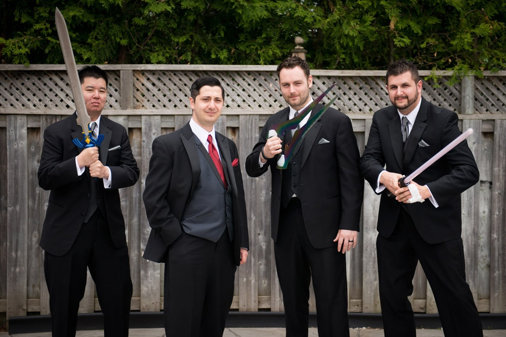 Fun_Wedding_Party_Photos_Swords_Hydro_Starbucks_02