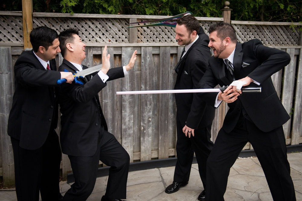 Fun_Wedding_Party_Photos_Swords_Hydro_Starbucks_03