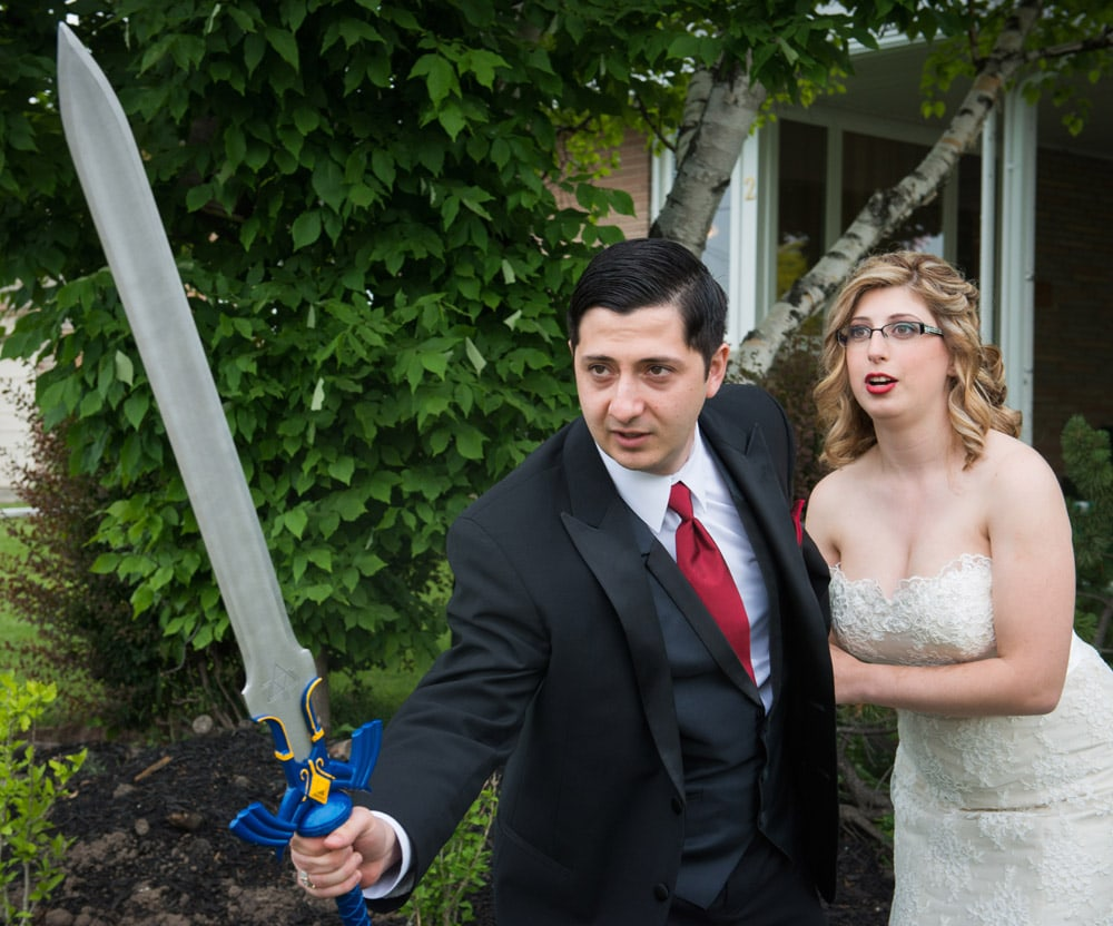 Fun_Wedding_Party_Photos_Swords_Hydro_Starbucks_12
