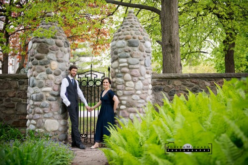 Spadina House Museum Engagement Shoot Formal Photography