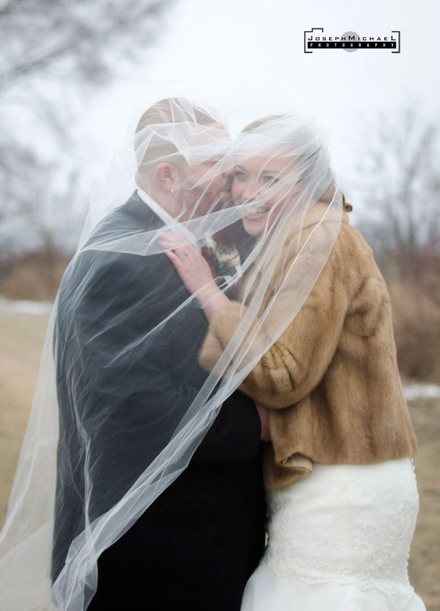 Humber Bay Park West Wedding Photos Winter