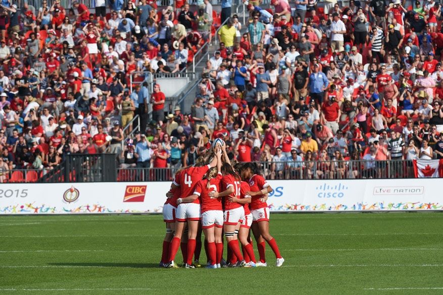 Canada Rugby 7 Gold Medal Pan Am Games Toronto