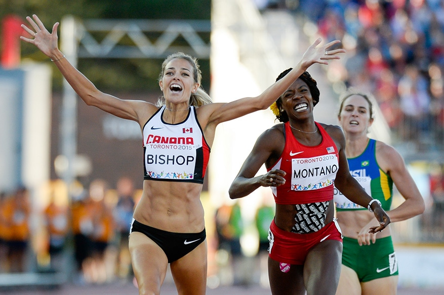 Melissa Bishop of Team Canada Wins 800m Final at Pan Am Games