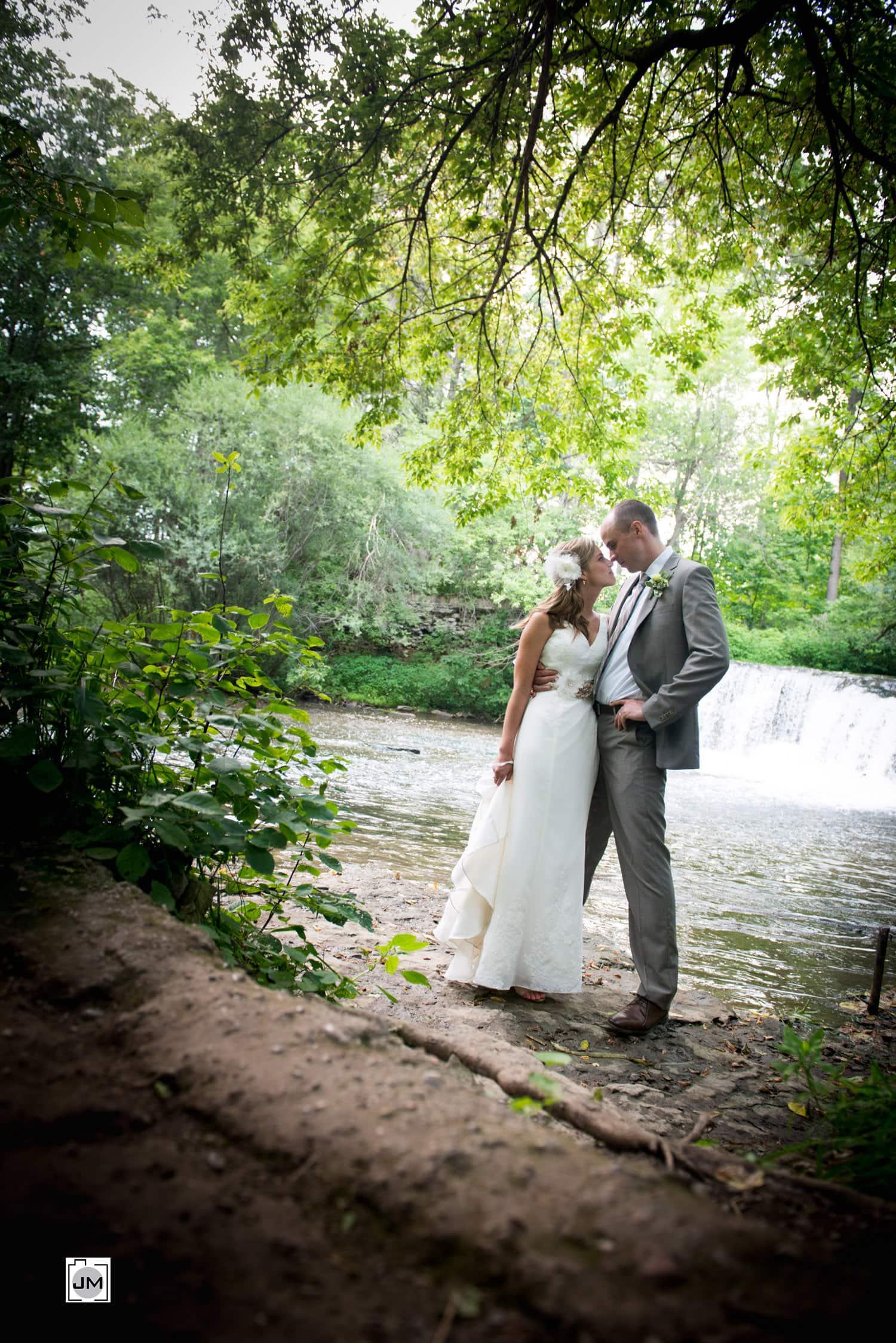Lynn River Falls - Port Dover Wedding