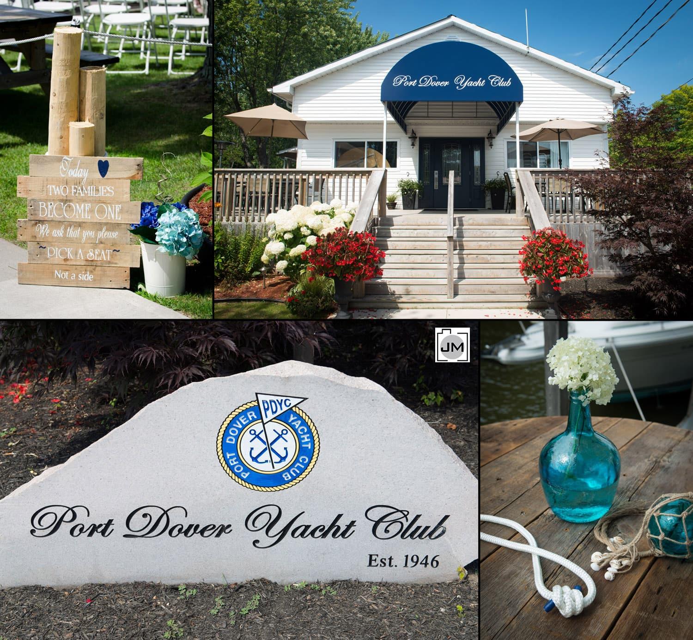 Port Dover Yacht Club - Wedding Photography