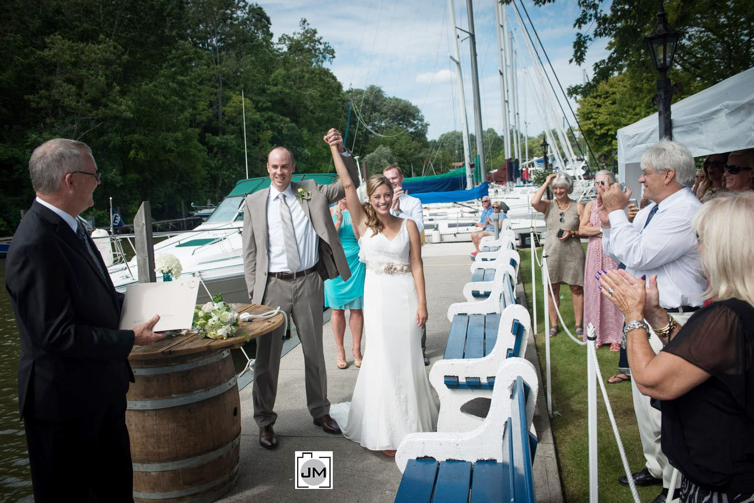 Port Dover Yacht Club - Wedding Photography