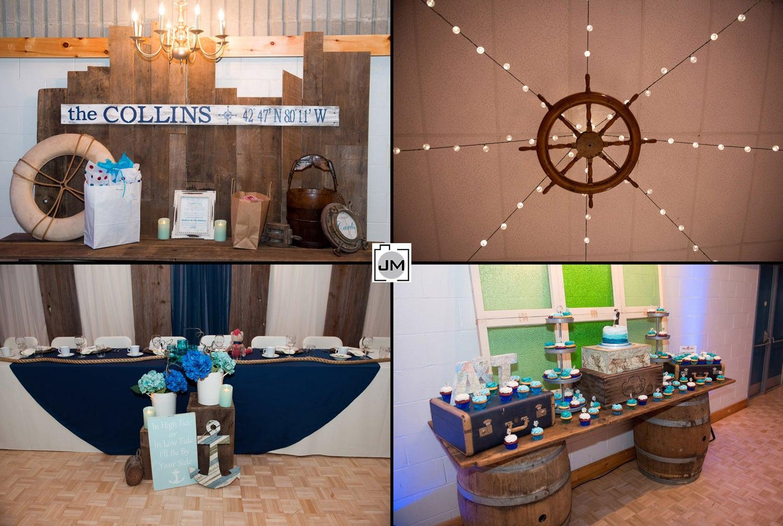 Port Dover Community Centre Wedding
