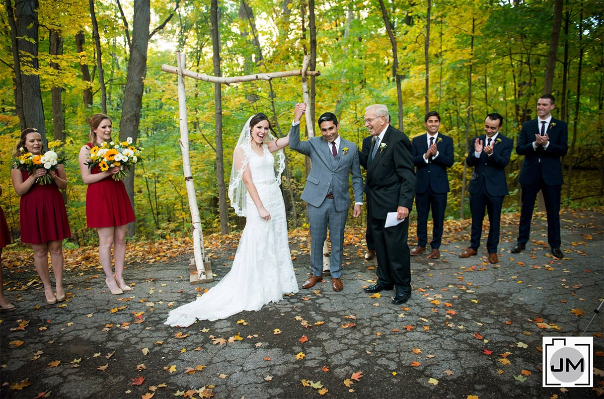 Kortright Centre for Conservation Fall Wedding