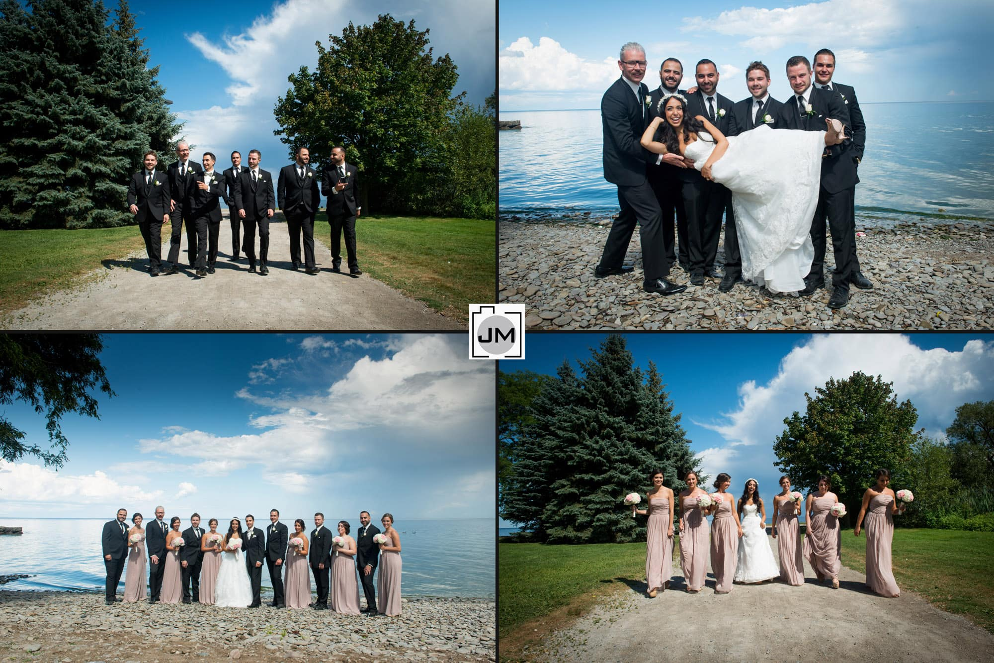 Coronation Park Oakville Wedding Photos