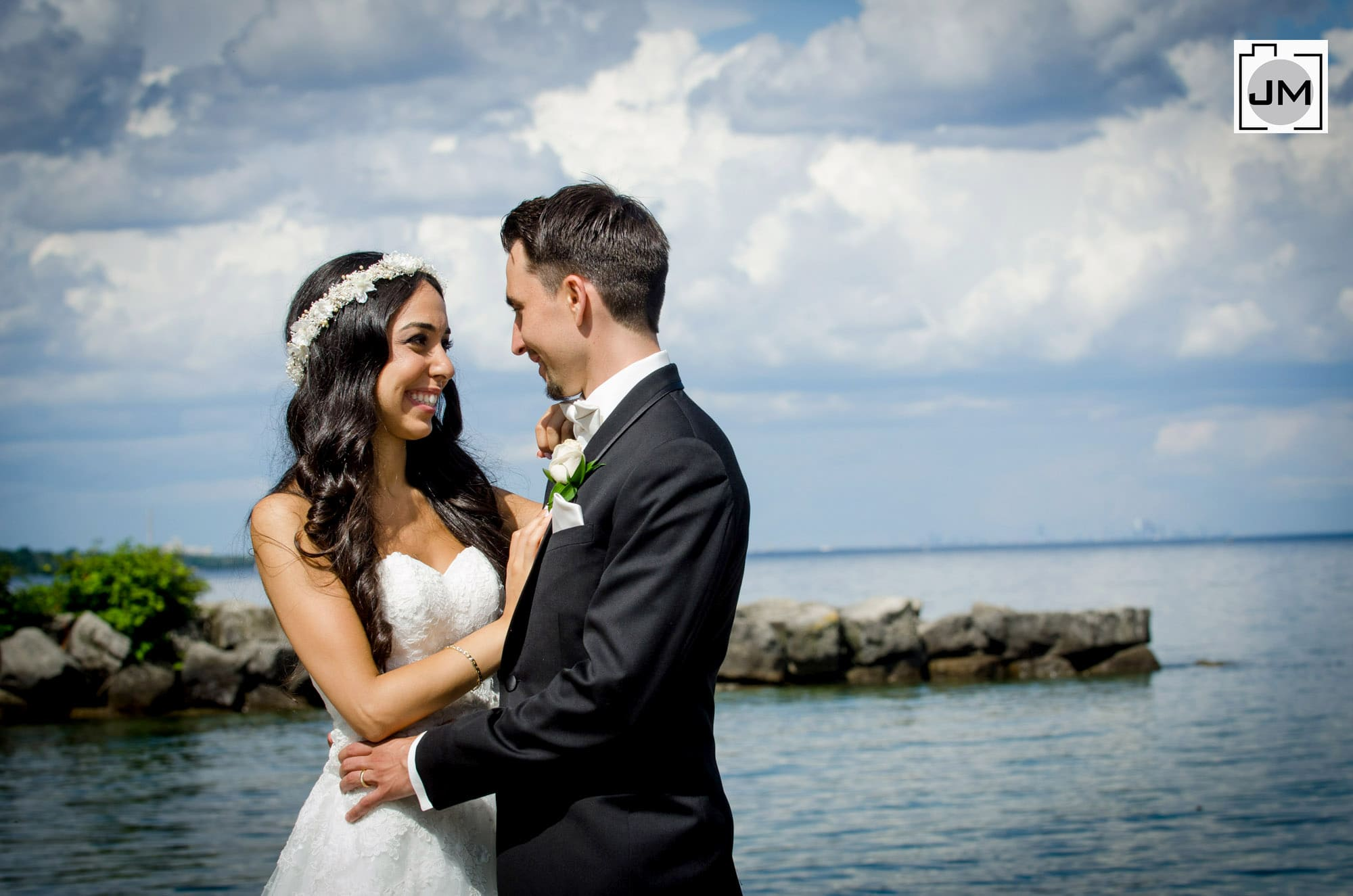 Coronation Park Oakville Wedding Photos