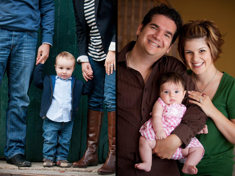 Fall Family Portrait Toronto