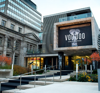 Grand opening celebrations for Voodoo in downtown Toronto venue