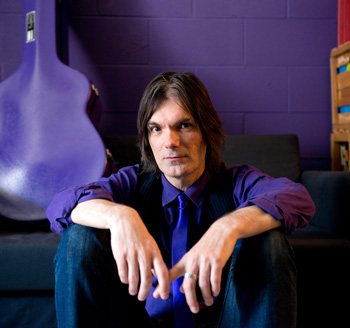 Photograph of a Toronto musician posing for album cover